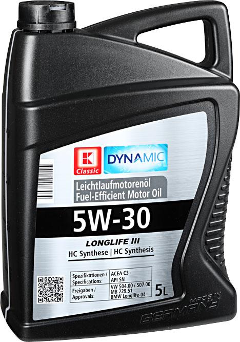 ::  -60% :: Motoröl »Longlife III 5W-30« statt 49,99€