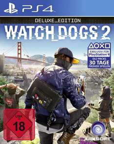 Watch Dogs 2: Deluxe Edition (PS4 / XBO) für je 29,99€ [Gamestop]