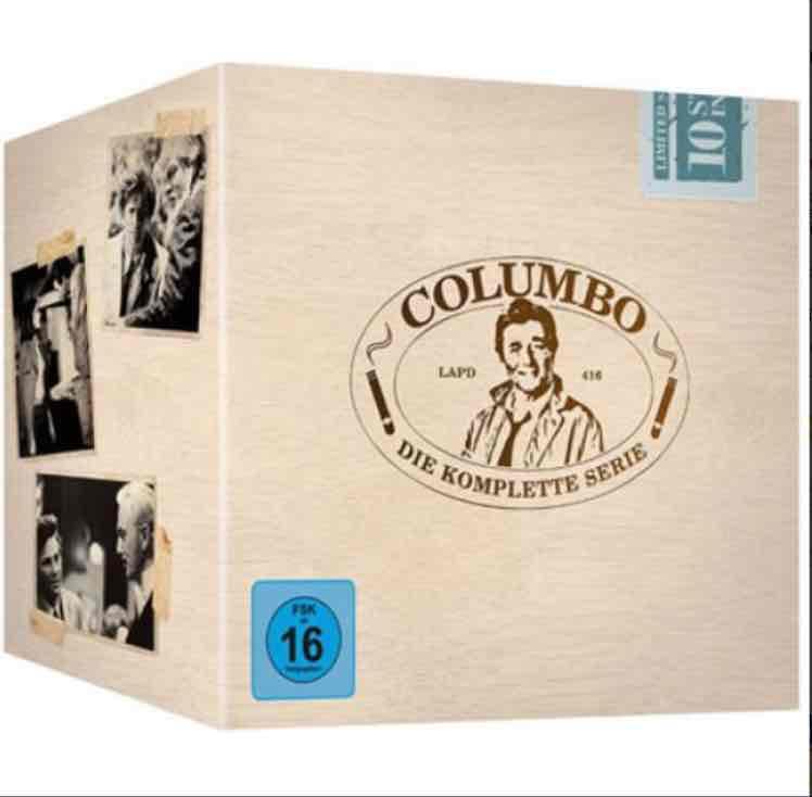 Kultserie Columbo Komplettbox für 33,29 € (Preisvergleich 45€)