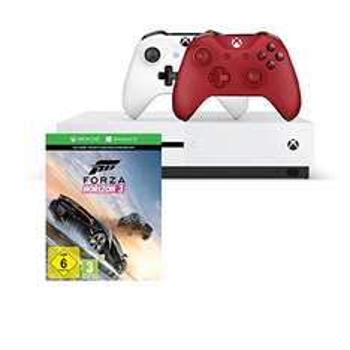 Xbox One S 1TB + Forza Horizon 3 (Play Anywhere) + 2. Controller für 269€ [Amazon]