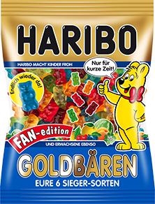 [Lidl ab 12.04.] Haribo Goldbären Fan oder Rätsel Edition für 0,65€