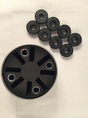 8 x ABEC-7 Speed Bearings Kugellager im Set mit Spacer