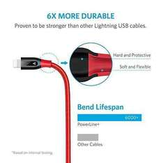 Anker PowerLine+ 3m Lightning Kabel [Amazon]