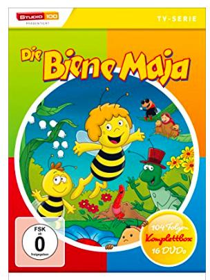 Die Biene Maja Komplettbox 16 DVDs für 24,97€ mit [Amazon Prime]