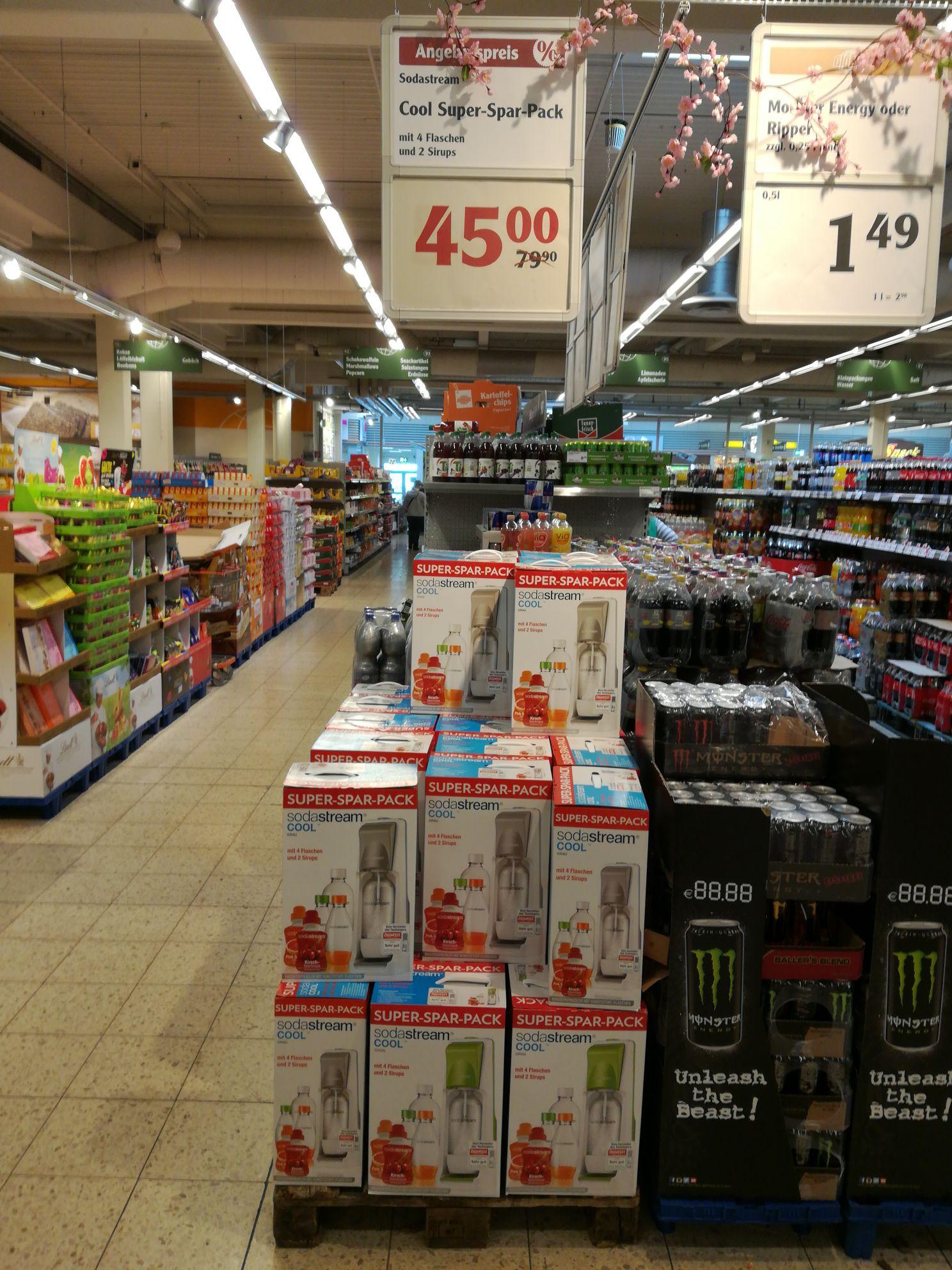 Sodastream Super Spar Pack lokal Globus 67433