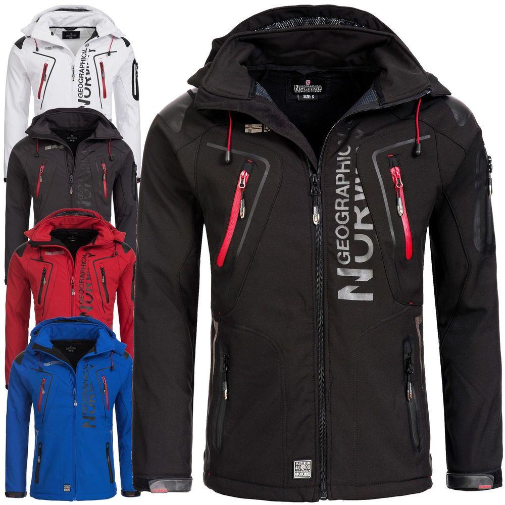 Herren Softshell Jacke in div Größen und Farben (noch vieles verfügbar) Marke: Geographical Norway