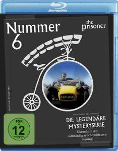 Nummer 6 - The Prisoner komplette Serie (4 Blu-Ray) für 11,99€ (Amazon.de)