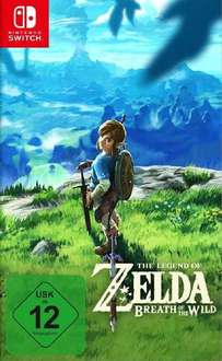 The Legend of Zelda: Breath of the Wild (Switch) für 54,49€ inkl. VSK (Conrad)