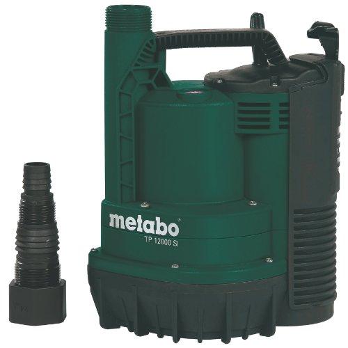 METABO TP12000 SI Klarwasser-Tauchpumpe  [600Watt, 12000Liter/h ] Flachsaugend