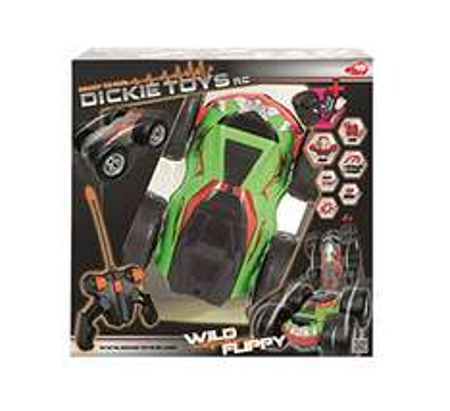 Amazon/MyToys Dickie Toys 201119063 - RC Wild Flippy, funkferngesteuertes Überschlagauto inklusive Batterien, 25 cm 33,99 Euro