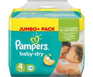 [Rossmann+App] Pampers Baby Dry Jumbo+ alle Größen