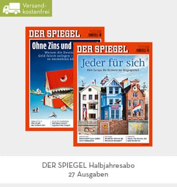 (limango) Spiegel Halbjahresabo / 29,95 (1,11€ pro Ausgabe)