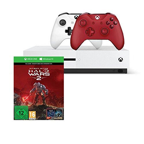 Xbox One S 1TB + Halo Wars 2: Ultimate Edition + 2. Controller für 259€ [Amazon]