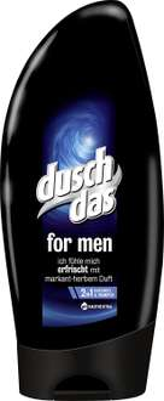 Duschdas For Men 2 in 1 Duschgel & Shampoo, 6er Pack [Amazon Spar Abo]