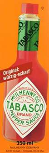 [Amazon Prime] Tabasco Pepper Sauce, 1er Pack (1 x 350 ml) für 7,75€ (mit Sparabo 7,36€)