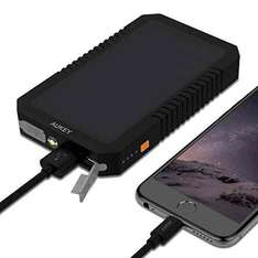 Aukey PB-P8 Solar Powerbank 12000mAh [Amazon]