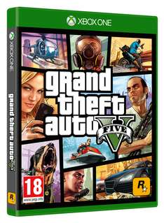 Grand Theft Auto V (Xbox One) + $2,5 Mio Ingame Dollars für 30,34€ inkl. VSK (Shopto)