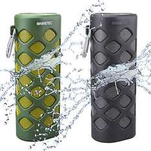 NINETEC Oxygen 2in1 Outdoor Bluetooth NFC Speaker Lautsprecher mit PowerBank