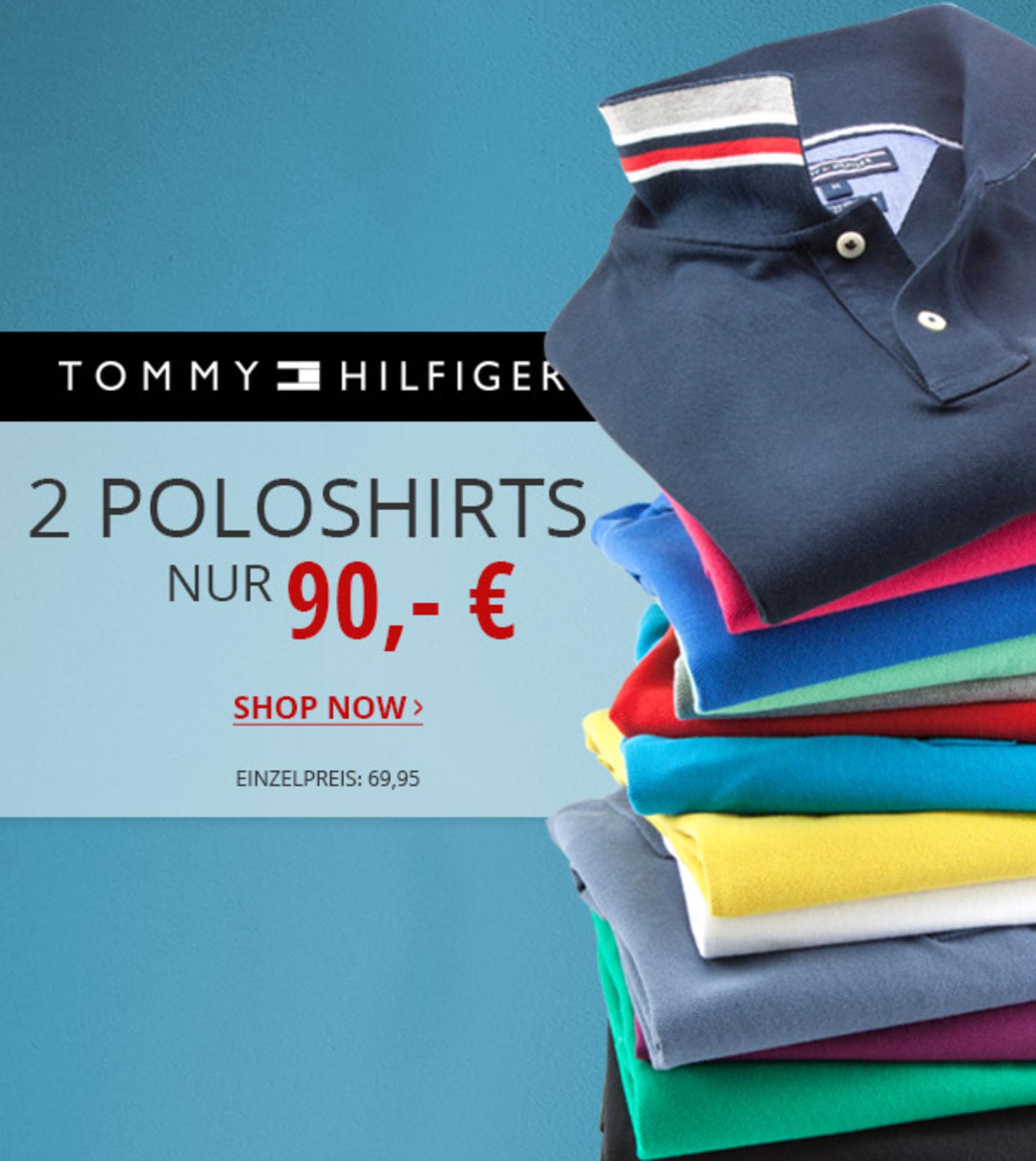 2x GANT oder Tommy Hilfiger Poloshirt 80 Euro inkl. Versand mit 10€ Newsletter --> sehr viele Farben (S-XXL)