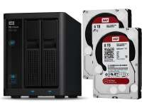 WD My Cloud EX2100 2-Bay NAS 12TB (2x WD Red 6TB)