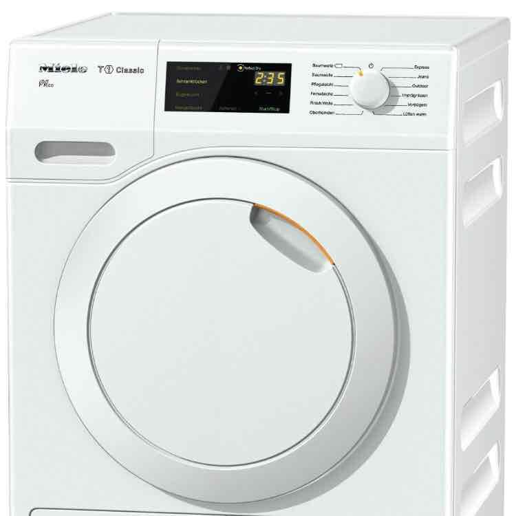 Miele TDB110WP Wärmepumpentrockner / 211 kWh/Jahr / 7 kg / EcoDry-System / DirectSensor-Bedienung