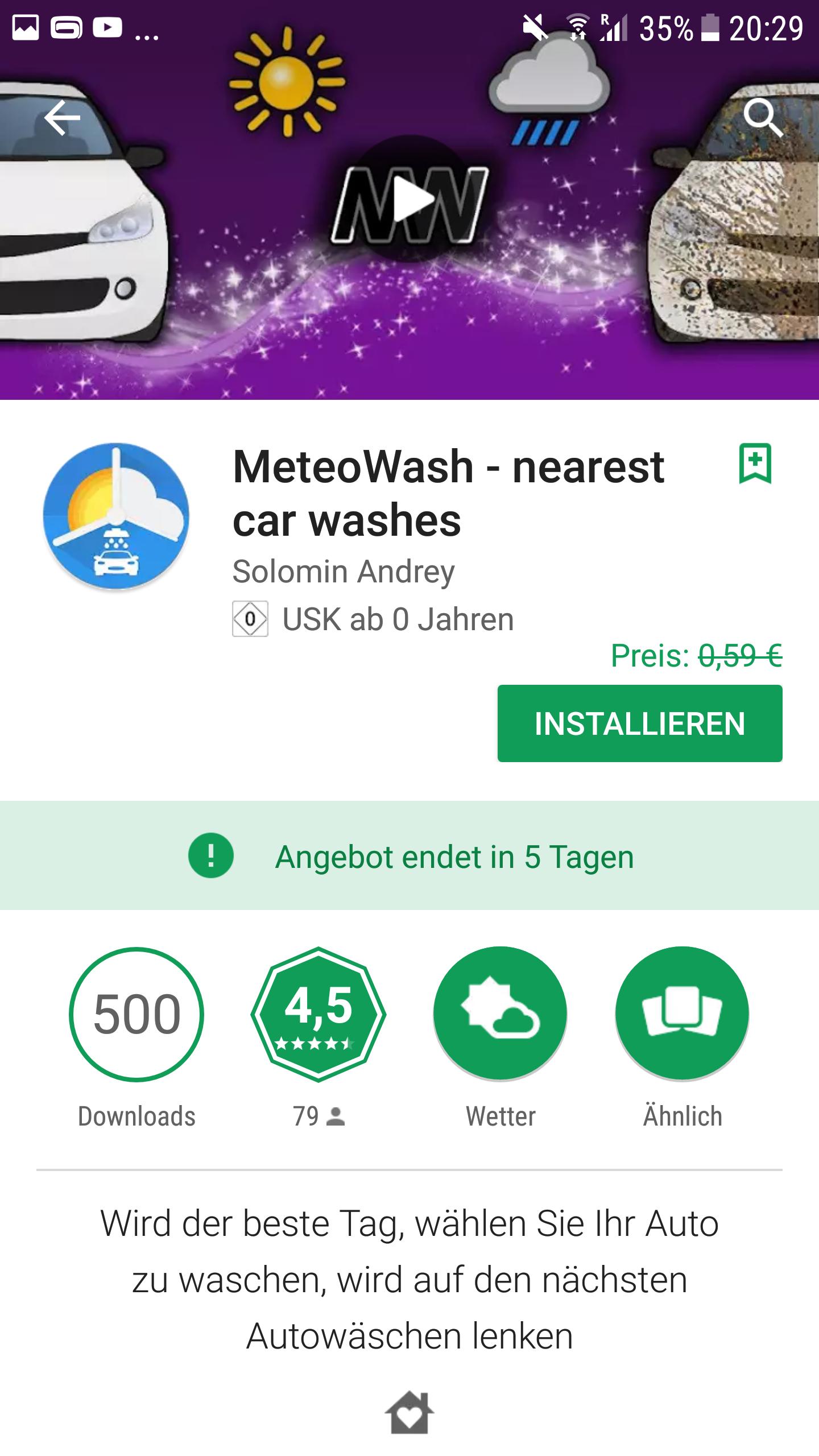 2 Google Play Store Freebies und 1 reduzierte App(Android)