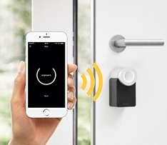 Nuki Combo (Smart Lock und Bridge) - Elektronisches Bluetooth Türschloss