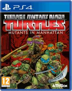 Teenage Mutant Ninja Turtles: Mutants in Manhattan (Xbox One & PS4) für je 13,95€ inkl. VSK (Game UK)