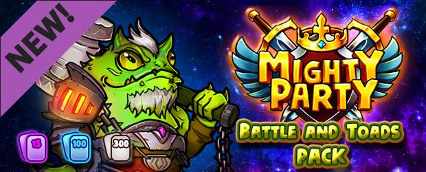 Mighty Party: Battle and Toads Pack DLC Giveaway (Steam) + Steam-Errungenschaften