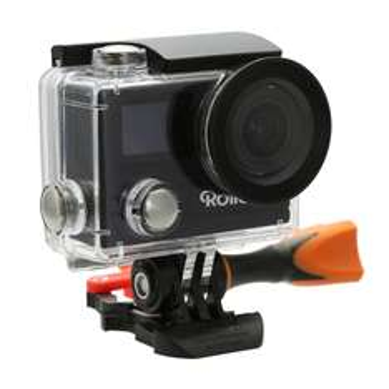[Amazon] Rollei Actioncam 430 -  WiFi Camcorder mit 4K, 2K, Full HD Videoauflösung und Slow-Motion, Ultra HD, Wasserfest, Staubgeschützt / 20% unter Idealo