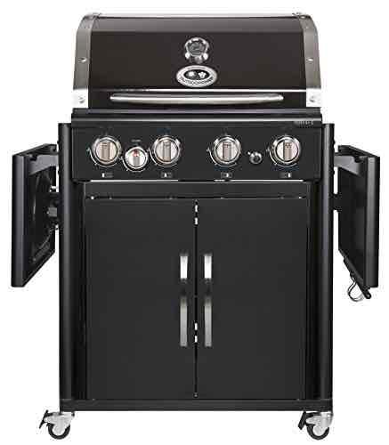 Outdoorchef PERTH 4G + schwarz BBQ Gasgrill Grillstation, 4 Brenner, 18.131.29 [Amazon]