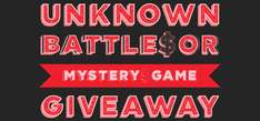 Free Steam Key für - Unknown Battle or Mystery Games!