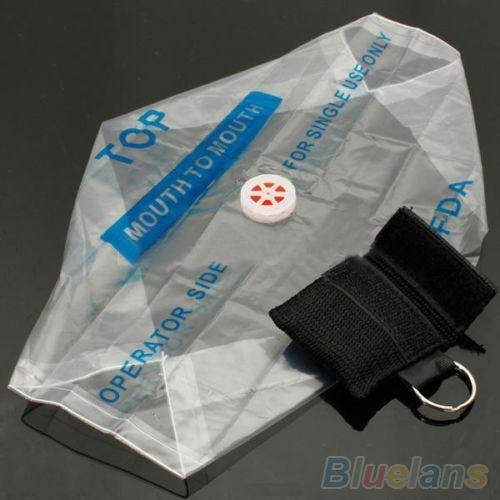 Leben retten: CPR Beatmungsmaske als Schlüsselanhänger für 0,64-0,71€ immer dabei (@aliexpress / ebay)