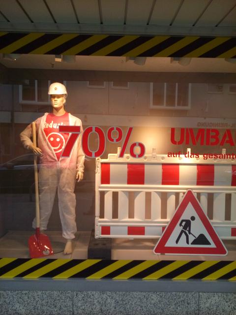 Lokal Dortmund Hombruch Dustman 70% auf alles