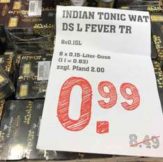 [Lokal Rewe Center Darmstadt] Fever Tree Indian Tonic 8x 0,15 Dosen