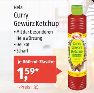 [Aldi Süd ab 20.05.] Hela Gewürz-Ketchup für 1,59€ *Update