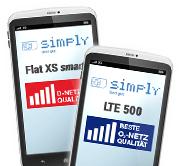 Simply Allnet-Flat + bis zu 10GB LTE (mtl. kündbar)