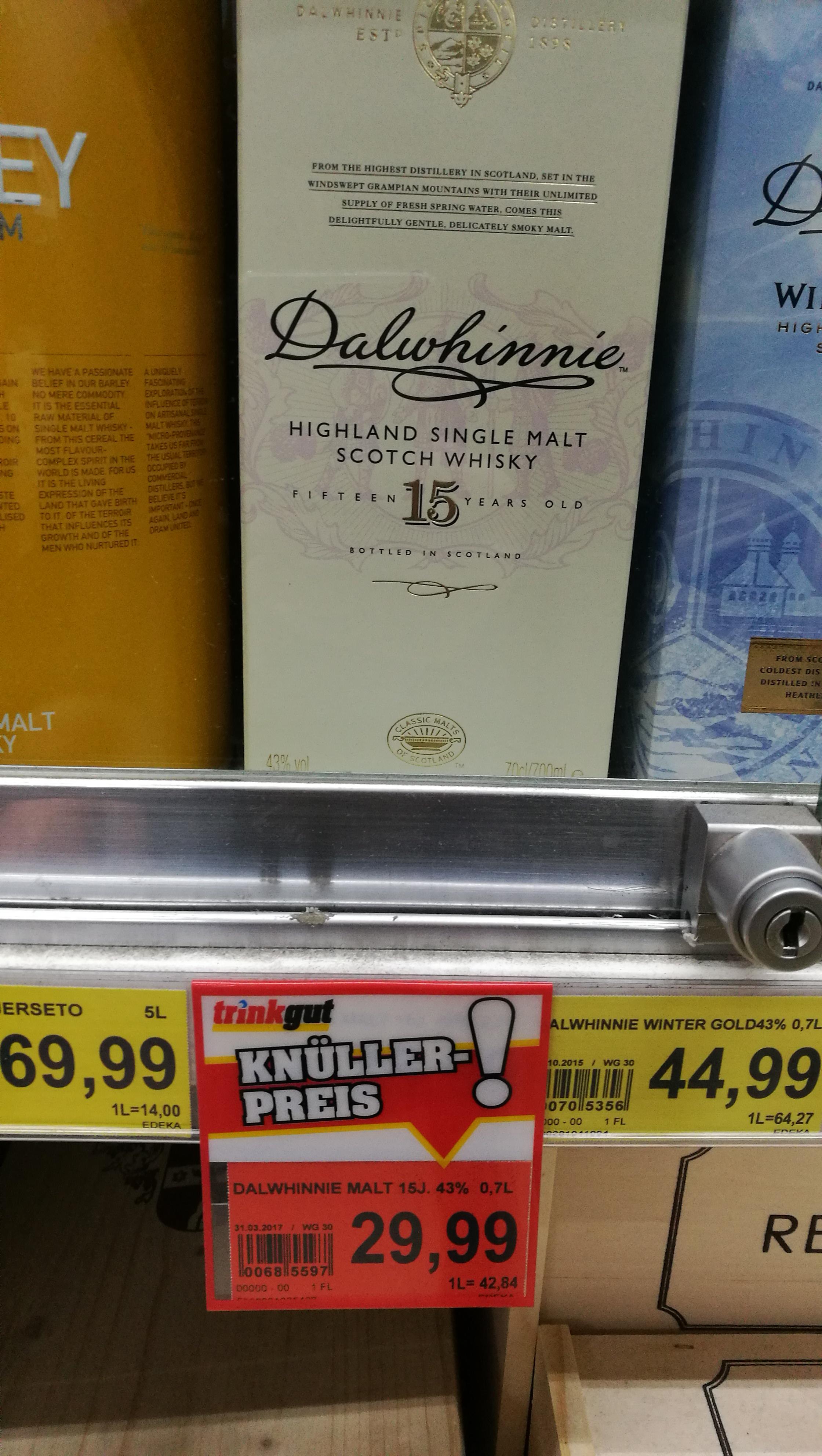 Single Malt Angebote bei Trinkgut: Talisker 10 Dalwhinnie 15 Highland Park 12 uvm.