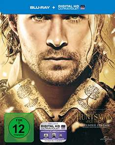 The Huntsman & The Ice Queen Extended Edition (Steelbook) (Blu-ray + UV Copy Limited Edition) für 12,97€ inkl. VSK (Amazon.de)