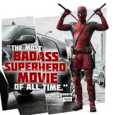Deadpool Blu-Ray inkl. 1 Euro Gutschein für Amazon Video