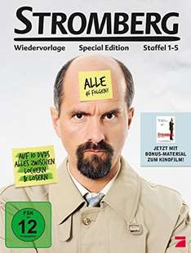 Stromberg Staffel 1-5 (Deluxe Edition) [10 DVDs] für 19,97€ inkl. VSK (Amazon Blitzangebot)