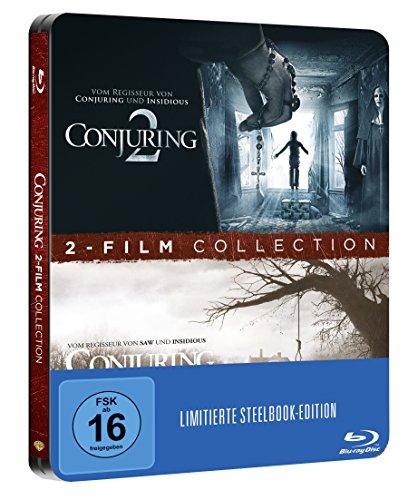 Conjuring 1 + 2 Steelbook (exklusiv bei Amazon.de) (Blu-ray Limited Edition) für 17,97€ inkl. VSK (Amazon Blitzangebot)