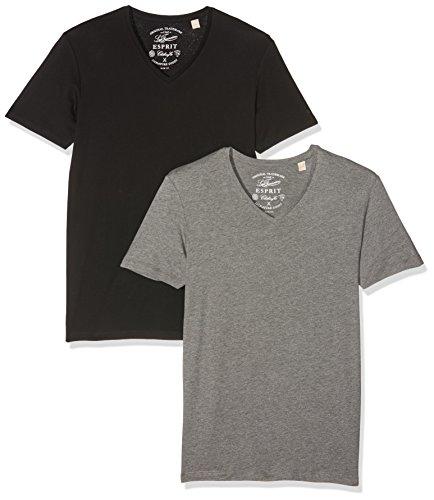 [AMAZON] ESPRIT Herren 2er Pack T-Shirt SLIM FIT(abzüglich 20 Prozent)