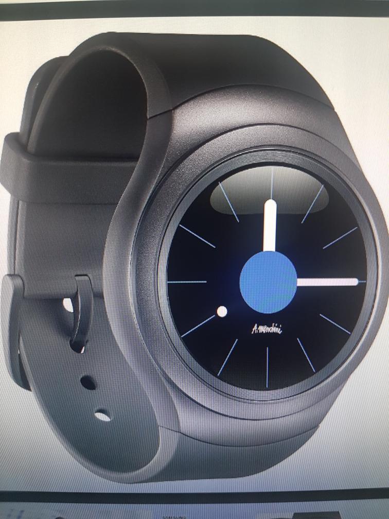 Samsung Gear S2 Sport 3G schwarz refurbished (wie neu), Priceguard@Rakuten
