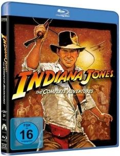 Indiana Jones 1-4 Komplettbox (Bluray) für 12,04€ bzw. 11,39€ bei Bestellung über die App [Thalia]