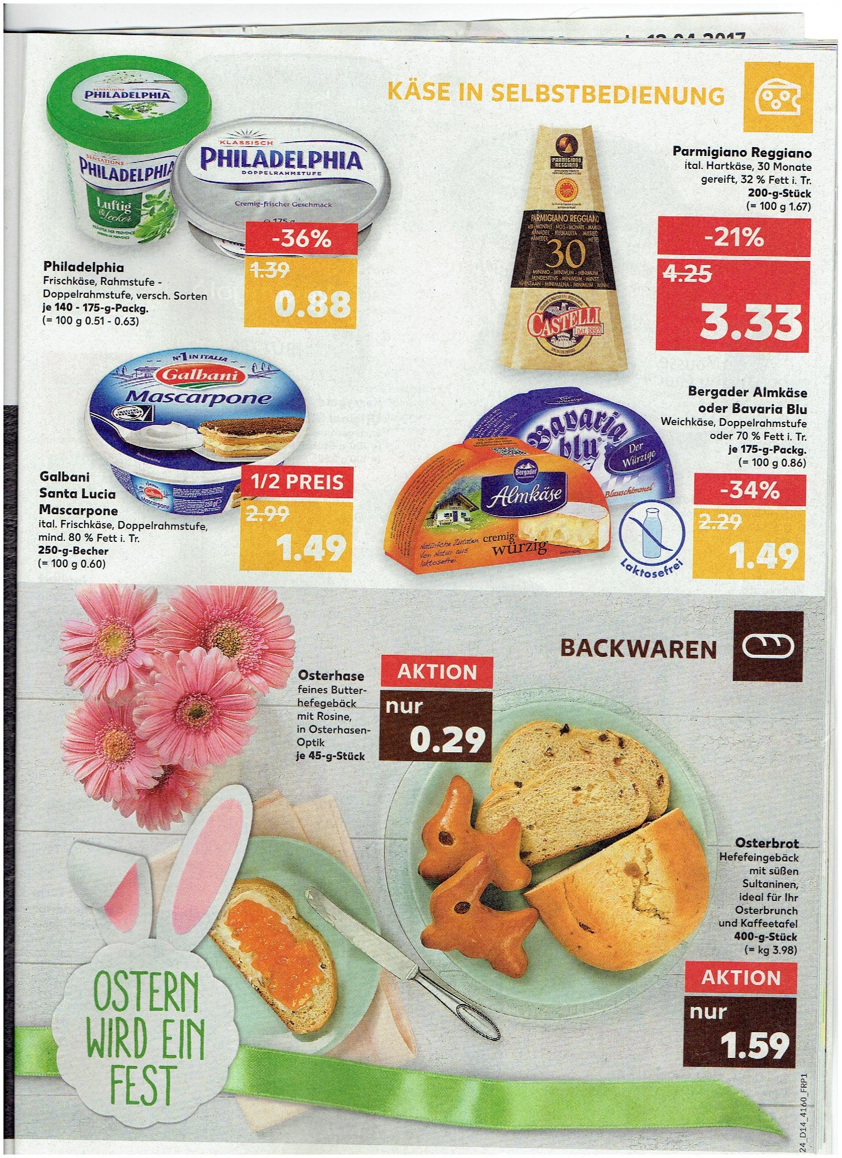 (Kaufland) Galbani Santa Lucia Mascarpone 1,49 € - 1,00 € (coupies) = 0,49 €
