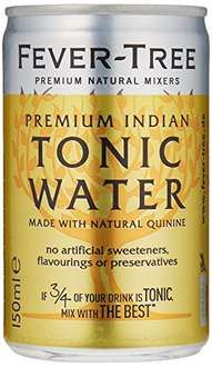 [amazon Prime] Fever Tree Tonic Water 24 Dosen 0,15l für 16,99€ + 6€ Pfand - 71cent je Dose - Perfect für Gin Tonic