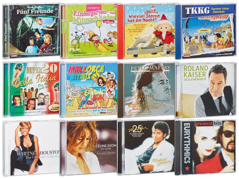 [Lidl] diverse Musik- und Hörspiel-CDs u.a. Michael Jackson - Thriller