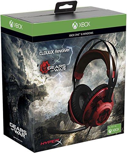 [Amazon] HyperX CloudX Revolver  - Gears of War Edition für Xbox One/PC, schwarz/rot für 85€ statt 100€