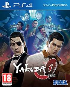 [amazon.co.uk] Yakuza Zero (PS4)